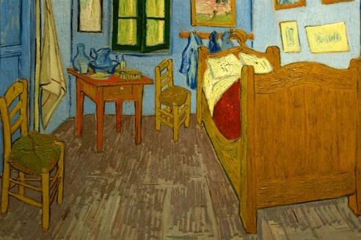 """Vincent Van Gogh, """"La camera ad Arles"""""""