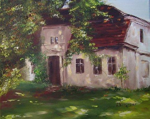 """'Primavera vicino alla casa di campagna"""", di  Wojciech Niemiec"""